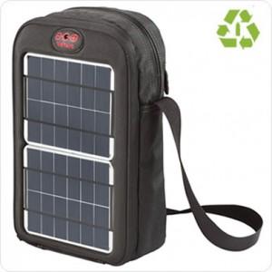 Geanta solara cu panouri fotovoltaice portabile