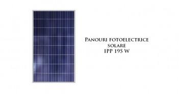 Panouri fotoelectrice solare IPP 195W
