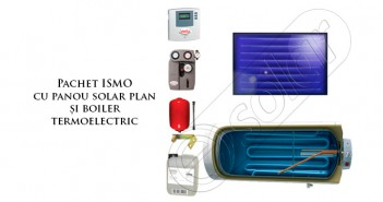 Set panouri solare cu boiler