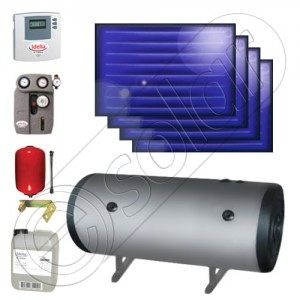 Panouri solare plane cu boiler