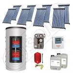Set de panouri solare cu tuburi vidate şi boiler