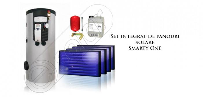 Set integrat cu panouri solare pentru încălzire Smarty One