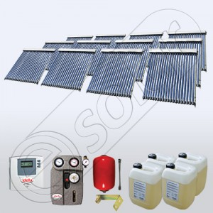 Panouri solare cu tuburi vidate enerhie termica
