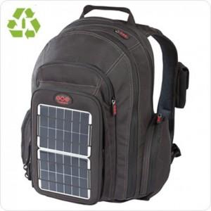 Rucsac solar cu celule fotovoltaice pentru laptop