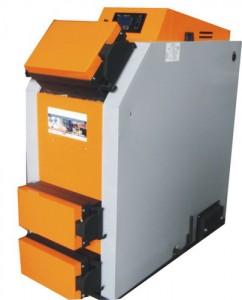Centrală termică pe combustibil solid - lemne, cărbuni şi peleţi