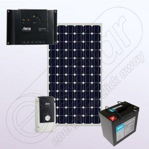 Kit fotovoltaic monocristalin cu invertor pentru independenţă energetică