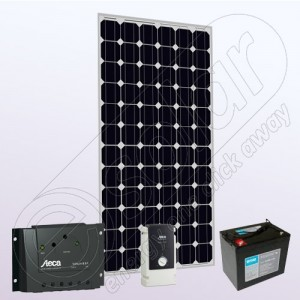Kit fotovoltaic solar stand alone cu invertor