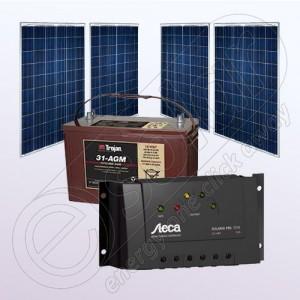 Kit fotovoltaic pentru casă pentru obţinerea independenţei energetice