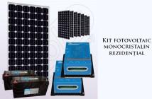 Kitul monocristalin fotovoltaic rezidențial