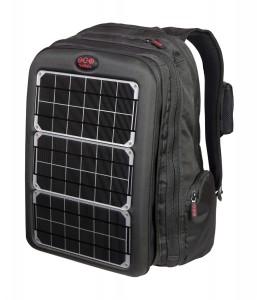 Rucsac pentru laptop cu încărcare folosind energie solară