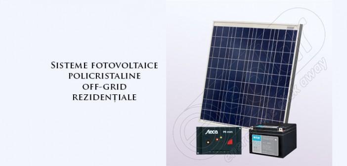 Sisteme fotovoltaice policristaline off grid