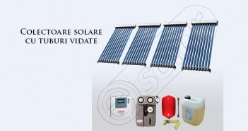 Colectoare solare cu tuburi vidate