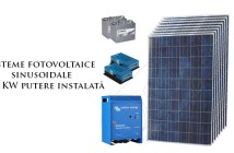 Sisteme fotovoltaice sinusoidale de 2kW putere instalată