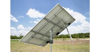 Celule solare fotovoltaice instalate pe trackere Orizont Uno 0.9 KWp