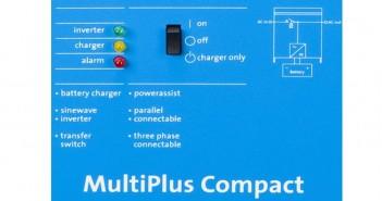 Invertoare de instalaţii solare Victron MultiPlus 12V 2000W