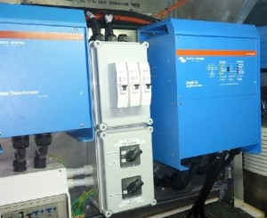 Sistem de back-up monofazat eficient în cazul întreruperilor de curent electric