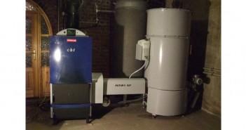 Centrală termică pe peleți, lemne și rumeguș prețuri ieftine