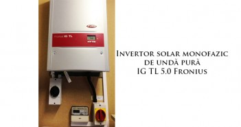 Invertoare fotovoltaice sinus pur prețuri ieftine