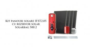 Kit panouri solare IFST2,05 cu rezervor solar Solarbag 500.2