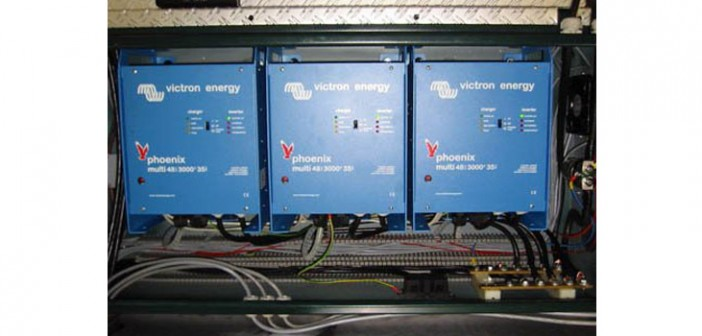 Sisteme solare back-up UPS cu acumulatori 3KW