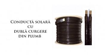 Conductă solară cu dublă curgere din plumb