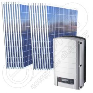 Sistem fotovoltaic on-grid de 4 kW de rețea