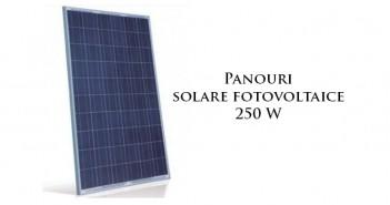 Panouri solare fotovoltaice 250 W durabile