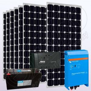 Sistem fotovoltaic independent cu invertor