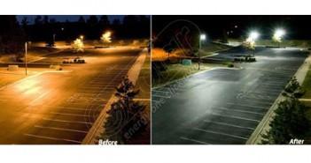 Stâlpi panouri solare fotovoltaice cu led pentru iluminat stradal