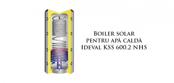 Boiler solar apă caldă Ideval KSS 600.2 NHS