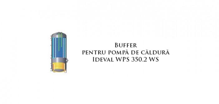 Buffer pentru pompă de căldură Ideval WPS 350.2 WS
