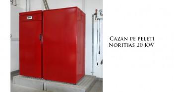 Cazan pe peleți Noritias 20 kW