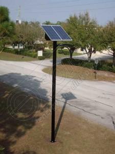 Stâlpi solari fotovoltaici de iluminat cu LED-uri PV-4M prețstâlpi solari fotovoltaici