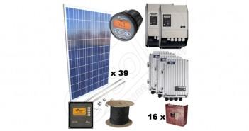 Sistem complet cu montaj la cheie inclus cu panouri fotovoltaice de 10kW preț