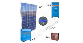 Kituri fotovoltaice 15kW putere pentru irigaţii în agricultură preț