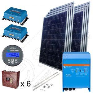 Kit solar fotovoltaic de 2kW pentru irigaţii în agricultură