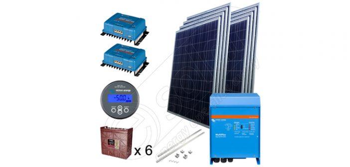 Kit solar fotovoltaic de 2kW pentru irigaţii în agricultură preț