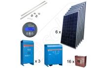 Sisteme solare fotovoltaice 9 kW pentru exploataţii agricole