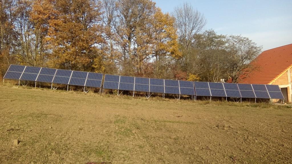 Instalație panouri fotovoltaice