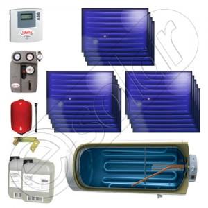 Kit solar termic cu boiler pentru casă