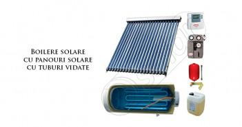 Boilere solare PV tuburi vidate