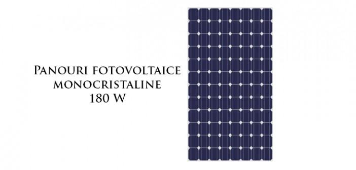 Panouri fotovoltaice monocistaline
