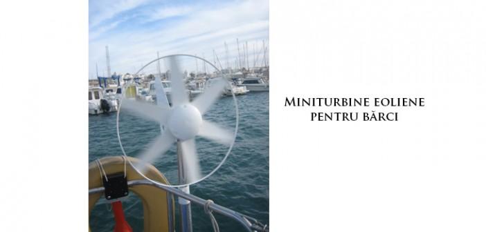 Miniturbine eoliene pentru bărci