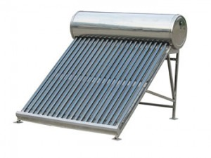 Panouri solare nepresurizate cu tuburi vidate