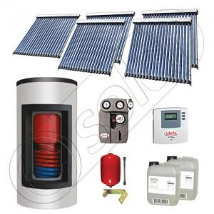 Set boiler cu panouri solare