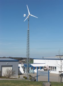 Turbină de curent eolian