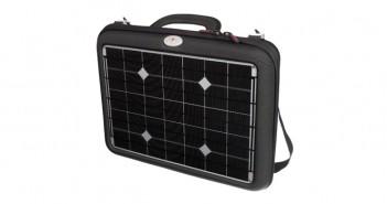 Gadget solar pentru încărcare laptop cu celule fotovoltaice