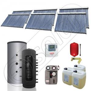 Set panouri solare cu puffer pentru încălzire ieftină şi ecologică