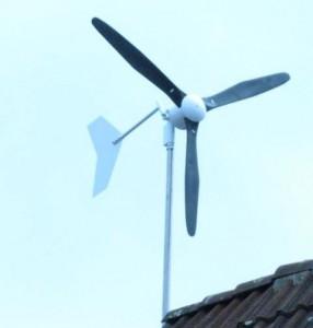 Turbină eoliană mică pentru casă