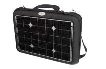 Geantă solară cu celule fotovoltaice
